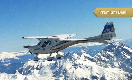 Ultraleicht-Rundflug über das Alpenland o. München inkl. Selbstfliegen mit der UTC Flugschule ab 119