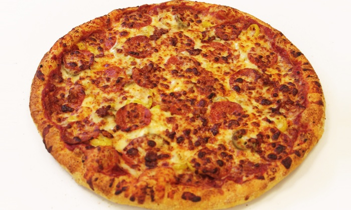 Zesty's Pizza - Sioux Falls: Pizza for Delivery, Takeout, or Drive-Thru at Zesty's Pizza (Up to 40% Off). Two Options Available.