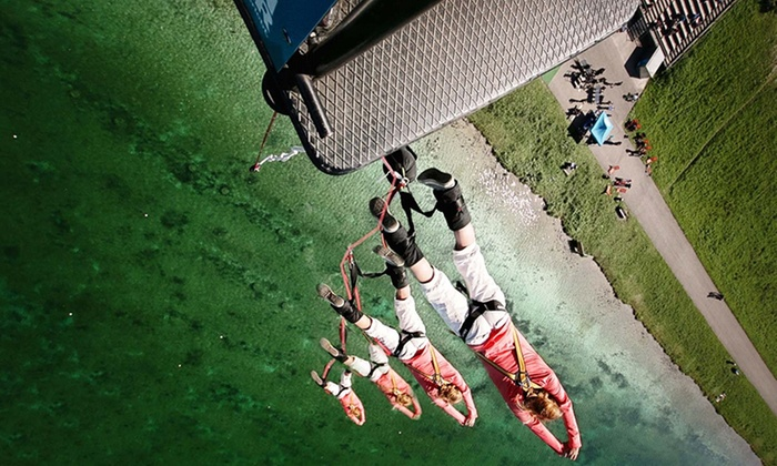 bungee jumping stuttgart in ertingen bw groupon. Black Bedroom Furniture Sets. Home Design Ideas