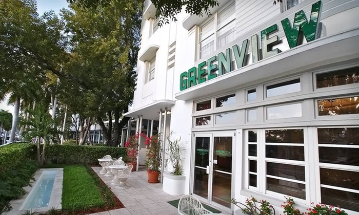 Greenview Hotel - South Miami Beach: One-Night Stay at Greenview Hotel in Miami Beach, FL