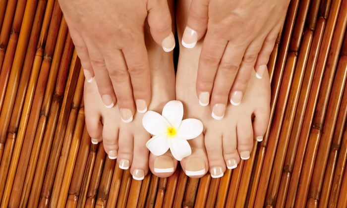 Mikal Houston Mobile Spa - Houston: One Spa Manicure and Pedicure or Two Spa Pedicures from Mikal Houston Mobile Spa (51% Off)