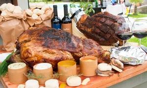 Perniladomicilio.com: Desde $799 por pata de pernil + pan artesanal + salsas para veinte o cuarenta en Perniladomicilio.com