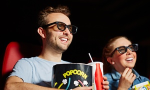 Movie, Popcorn, and Soda for Two from Far Away Entertainment Theaters and Cinemas (Up to 58% Off)