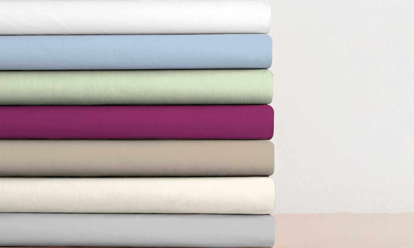 180TC Percale Extra Deep Fitted Sheets