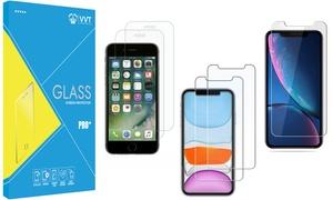 Lot 3 verres trempés pour iPhone
