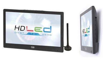 TV LED portatile 10,1″ LTV 2010 Trevi con decoder integrato DVB-T2 HEVC e spedizione gratuita