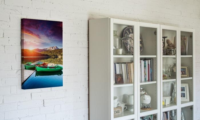 Toile photo personnalisable verticale ou horizontale dès 8,99 € avec Colorland (jusqu'à 70% de réduction)