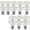 60W Replacement Soft White G25 LED Light Bulbs (10-Pack)