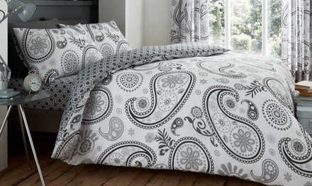 Paisley Reversible Duvet Set