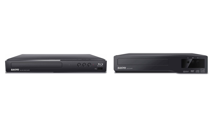 Sanyo DVD or Blu-ray Player (Refurbished)