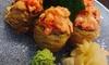 Pranzo o  cena con barca di sushi