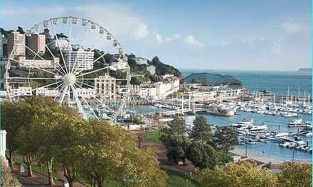 Torquay: 1 or 2 Nights for Two with Breakfast and Optional Cocktail at the 4* Hotel Cimon