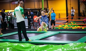 Up to 50% Off Jump Passes or Laser Tag at Rockin Jump - Roseville, plus 6.0% Cash Back from Ebates.