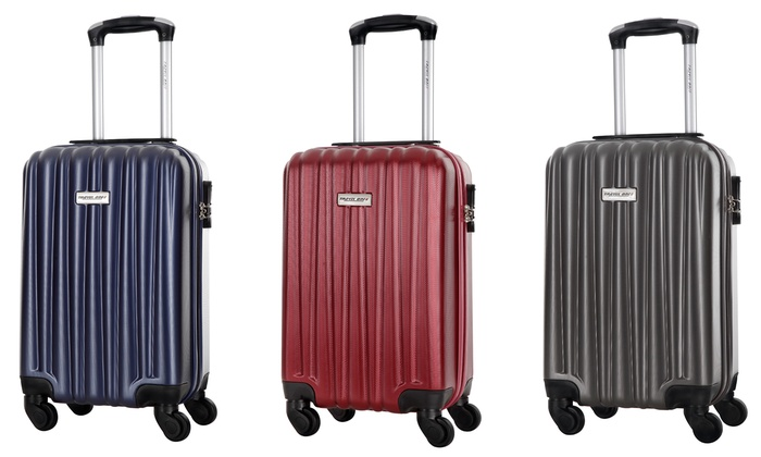 3ca815b1ed041 Valise cabine 4 roues Travel one | Groupon Shopping