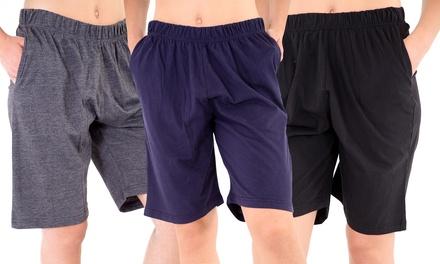 Lot de 2 shorts décontractés pour homme
