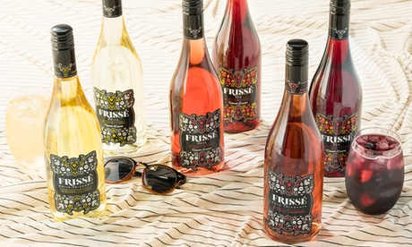 Six or 12 Bottles of Spanish Sangria Wine with Two Wine Tumblers from Wine Insiders (61% Off)