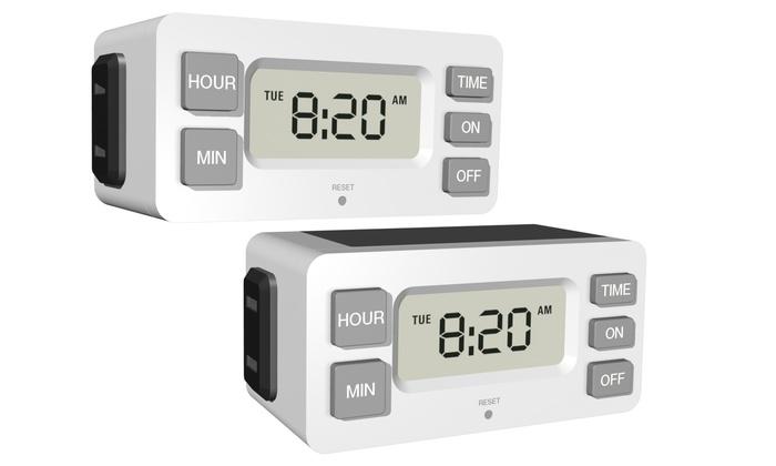 how to set stanley digital timer