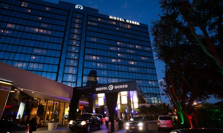 Stay at Hotel Derek in Houston, TX. Dates into August.