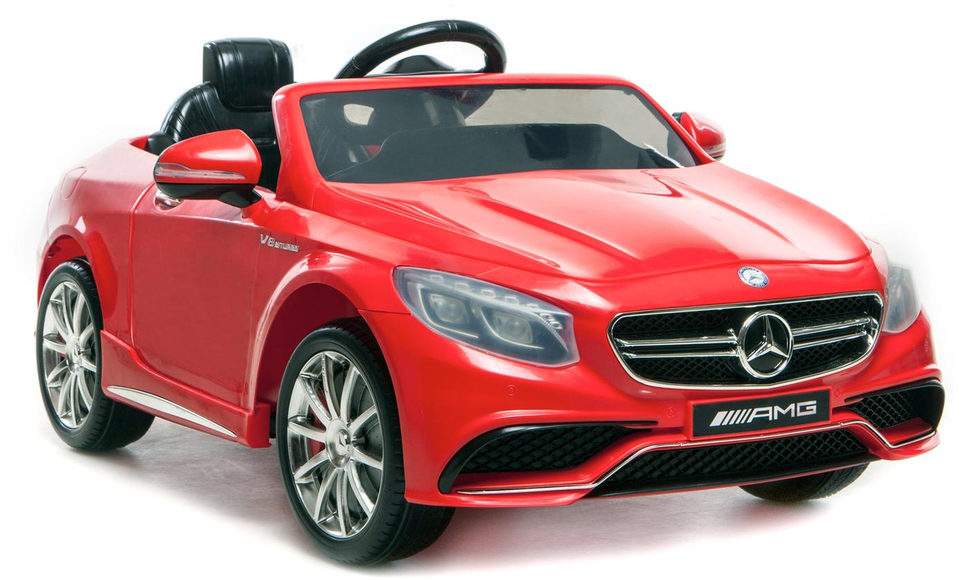 Kids' Electric Mercedes Benz 63 AMG Ride-On Toy Car With Free Delivery