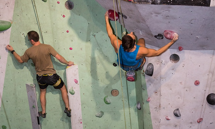 Rocksports - Fortitude Valley: $55 for Five Rock Climbing Day Passes at Rocksports (Up to $110 Value)