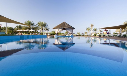 Abu Dhabi: 1 or 2 Nights for Two with Breakfast, Half or Full Board or All Inclusive at 5* Danat Resort Jebel Dhanna