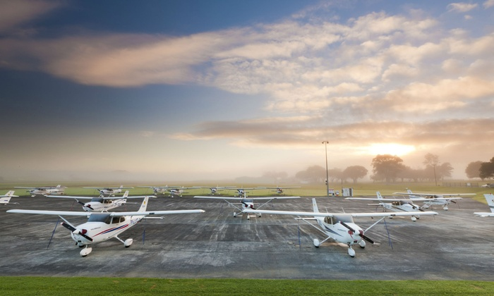Ardmore Flying School - Ardmore: Introductory Flying Lesson: One ($139) or Two Flights ($259) at Ardmore Flying School