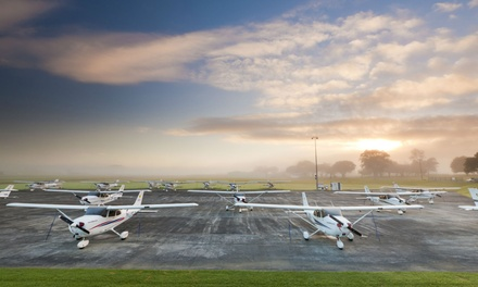 Introductory Flying Lesson: One ($139) or Two Flights ($259) at Ardmore Flying School