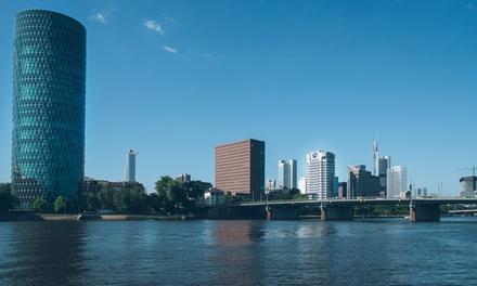 Frankfurt: twee of driepersoonskamer, naar keuze met ontbijt