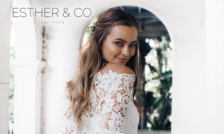 ESTHER & CO: $5 Online Credit Min Spend $120
