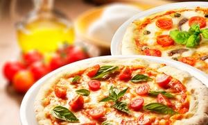 PIZZA OKAY: Menu d'asporto con panzerotto, a scelta pizza, kebab o spiedini, dolce e bibita da Pizza Okay (sconto fino al 60%)