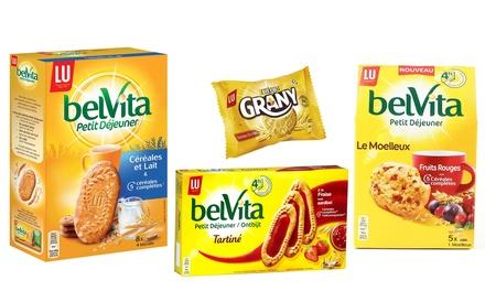 Doos van 8 Biscuits BelVita