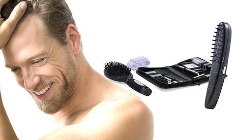Conjunto de peine láser y accesorios para el recrecimiento del cabello con fototerapia