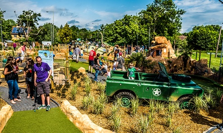 18Hole Adventure Mini Golf for Child, Adult or Family at BGL Group Mr Mulligans, Multiple Locations