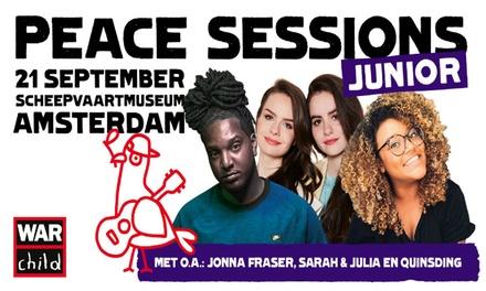 Jonna Fraser, Sarah & Julia en Quinsding laten zich horen voor War Child in Het Scheepvaartmuseum