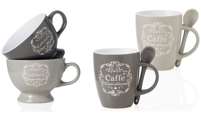 Set di 2 tazze in ceramica