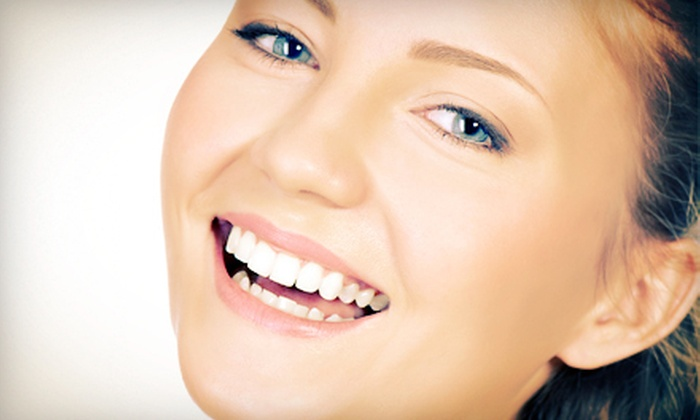 Studio Smiles - Midtown Center: Exam, X-rays, and Cleaning, Zoom! Teeth Whitening, or Both at Studio Smiles (Up to 81% Off)