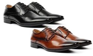 Vincent Cavallo Men's Lace-up Derby Shoes