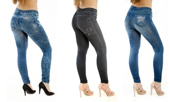 3er-Pack Damen-Jeggings