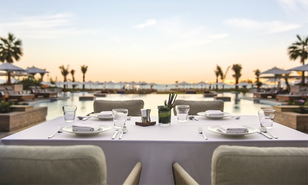 Brunch and Soft or House Drinks for Up to Four at Turquoise Restaurant at 5* Rixos Premium JBR (Up to 43% Off)