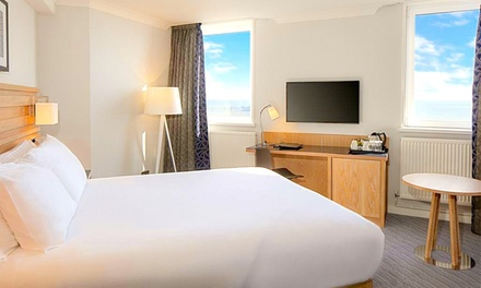 Blackpool: Standard Double or Twin Room with Breakfast, Leisure Access and Bottle of Wine at Grand Hotel Blackpool