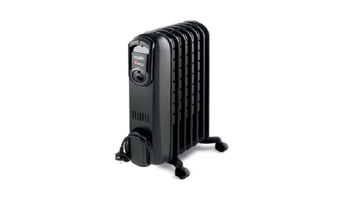 DēLonghi Safeheat 1,500W Portable Oil Filled Radiator: DēLonghi Safeheat  1,500W Portable Oil