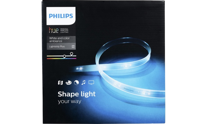 philips hue 2nd gen color changing light strip. Black Bedroom Furniture Sets. Home Design Ideas