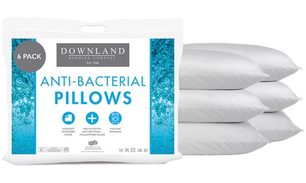 Pack of Four or Six AntiBacterial Pillows