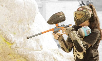 Airsoft, PaintballSOFT, and SpongeBall at Hollywood Sports Park (Up to 66% Off). Seven Options Available.