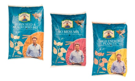 Alan Titchmarsh Bird Feed in Choice of Flavour from £9.98