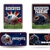 NFL Metal Auto Tag and Parking Sign Set