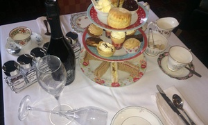 The Black Bull Mansfield: Afternoon Tea with Prosecco for Two or Four at The Black Bull Mansfield