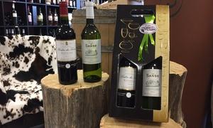 La Cave du Chalet: 1 coffret de 2 bouteilles de vin de Bordeaux (1 blanc et 1 rouge) à 19,90 € à La Cave du Chalet
