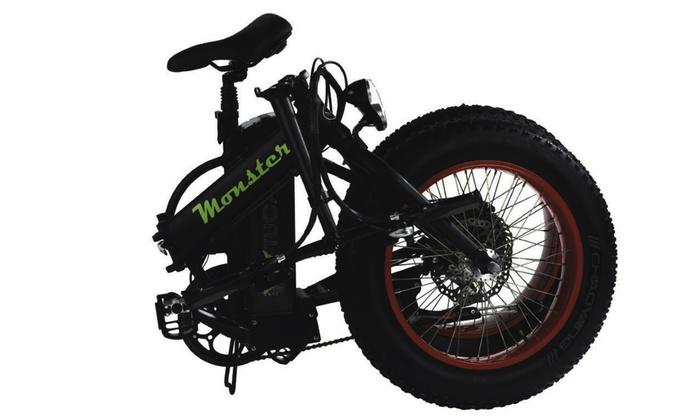 Monster tucano elektrische fiets groupon goods