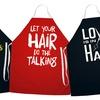 Cotton-Twill Hairdresser Apron